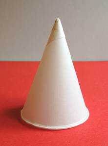 cone water cup