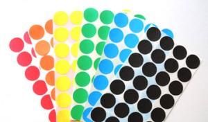 dot sticker