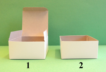 box steps 1 and 2