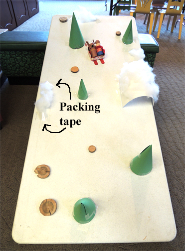 packing tape drifts