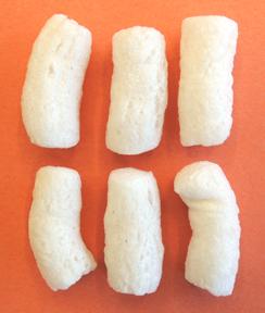 Styrofoam packing peanut