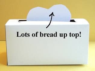 bread up top
