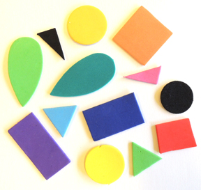 self-adhesive foam shape