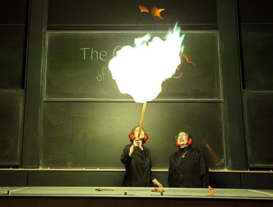 chemistry of magic