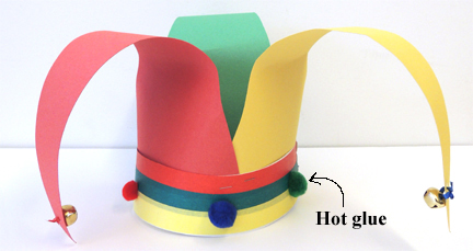 hot glue hat