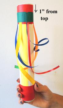 wrapped ribbon
