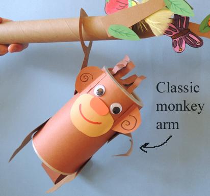 classic monkey arm