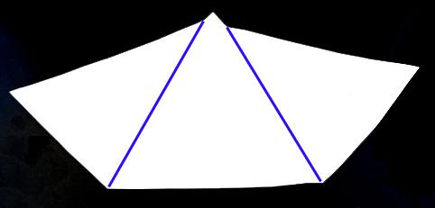 pyramid folds