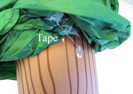 tape tree
