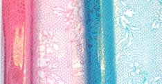cellophane lace