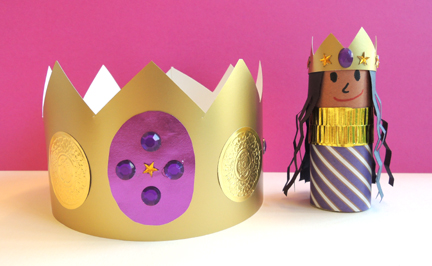 crown and friend