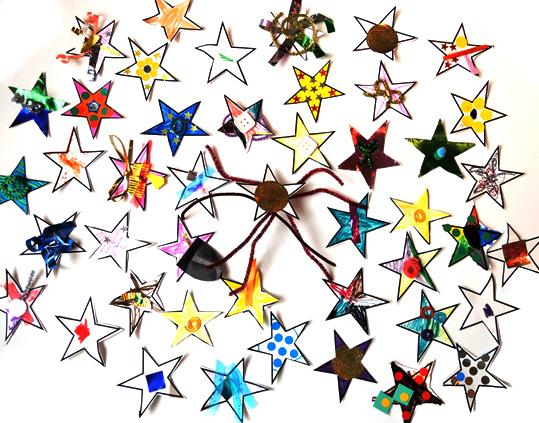 lots of magic stars