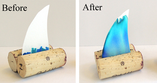 before and after boats