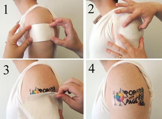 shoulder application