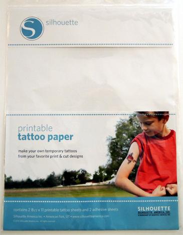 tattoo paper