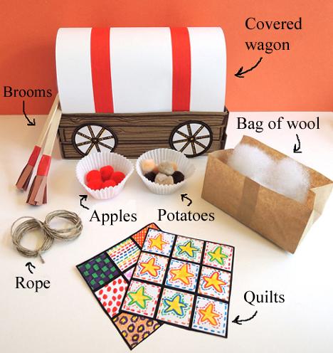 wagon and goods