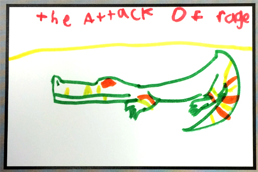 the attack of rage