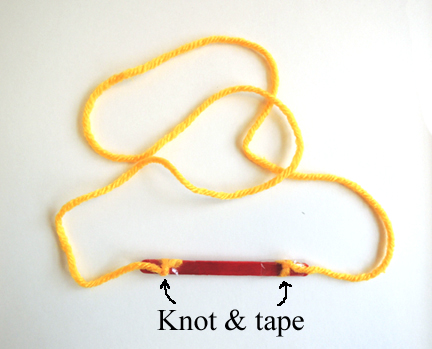 attached yarn
