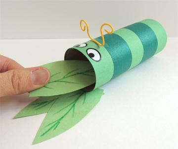 feeding the caterpillar