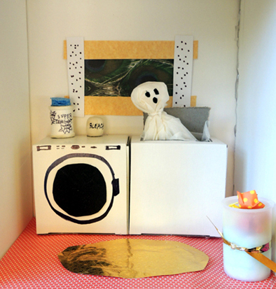 ghost in laundry room