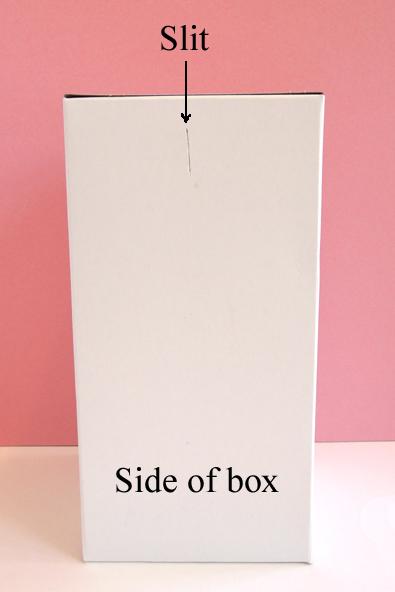 slit on box