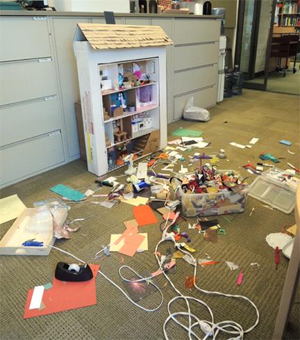 tremendous mess