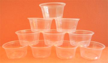 plastic sample cup