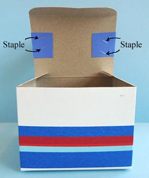 stapled handle