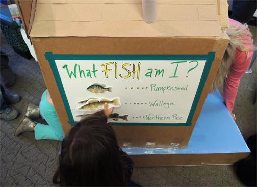 using the fish chart