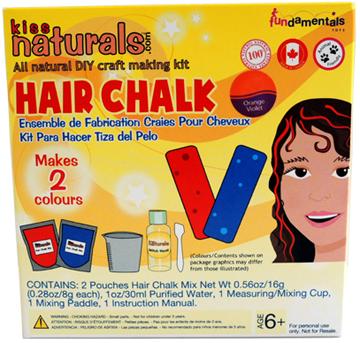 kiss naturals hair chalk