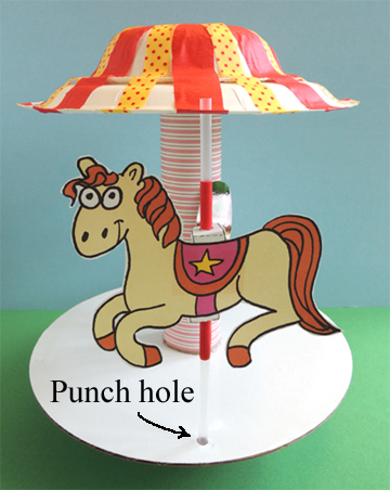 punched hole bottom