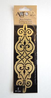 brass stencil