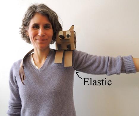 elastic on arm