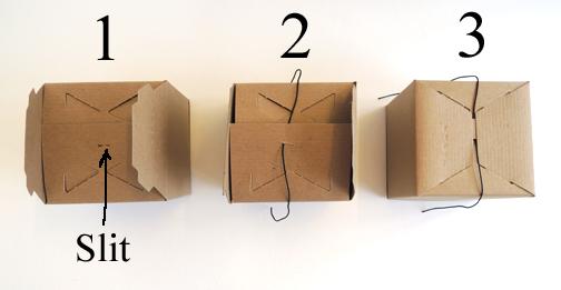 elastic on box