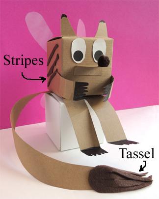stripes and tassel