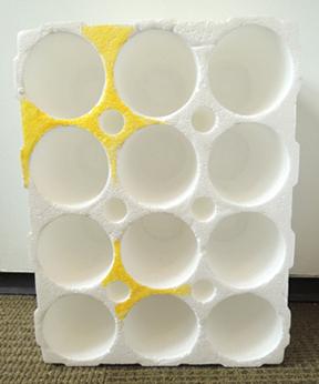 wine shipping styrofoam