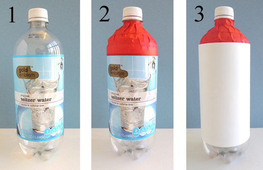 bottle steps 1-3