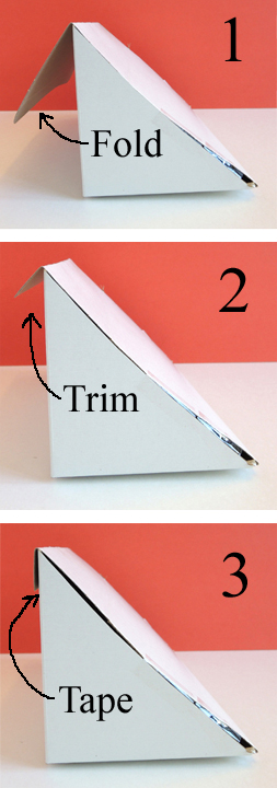 folding the box
