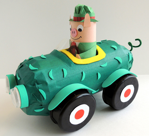 mr. frumble pickle car