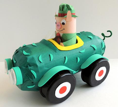 mr. frumble pickle car
