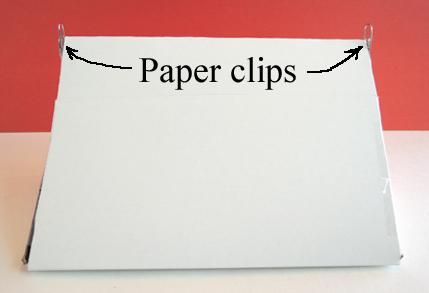 paper clip placement