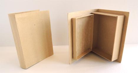 paper mache book