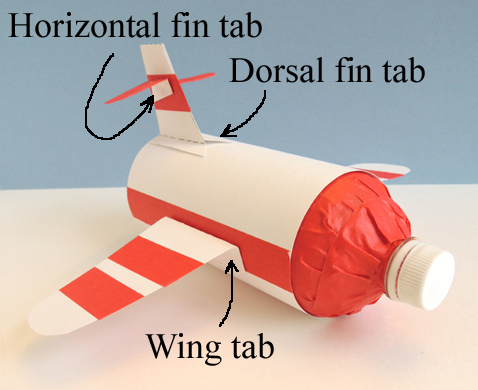 tail and wing attachment