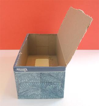 tissue box step 1