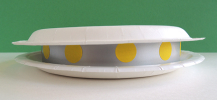 two plate saucer
