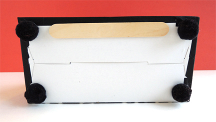underside of typewriter