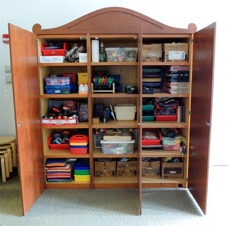 art cabinet
