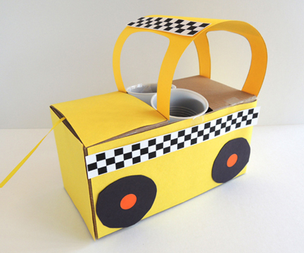 completed side of taxi