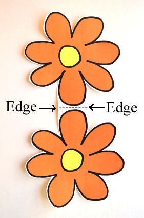 cut flower template