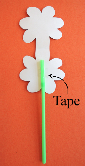 taped flower